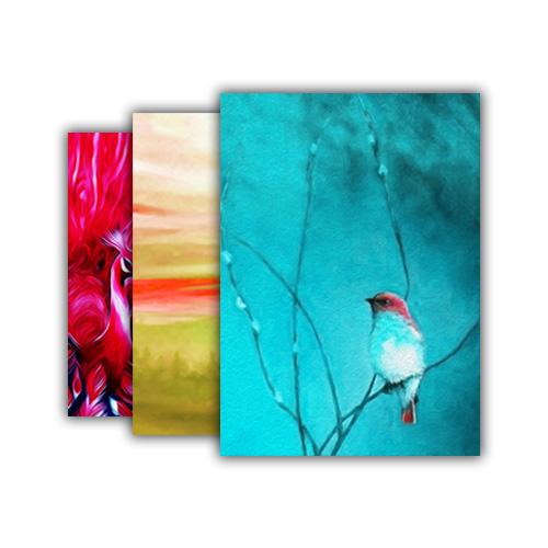 نمونه تابلوها و آثار نقاشی با رنگ روغن